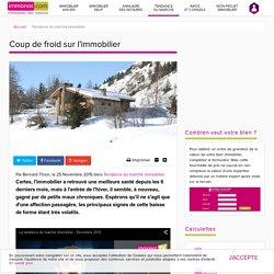 Tendance du marché immobilier : Coup De Froid Sur L'immobilier - Immonot.com