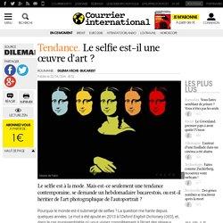 Tendance. Le selfie est-il une œuvre d'art?
