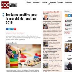 Tendance positive pour le marché du jouet en 2019