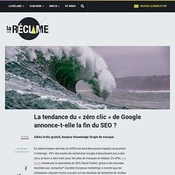 La tendance du «zéro clic» de Google annonce-t-elle la fin du SEO ?