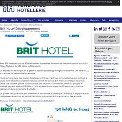 Brit Hotel Développement - TendanceHotellerie