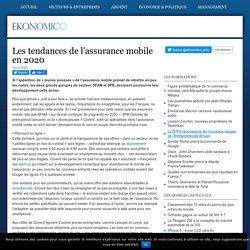Quelles tendances pour l'assurance mobile en 2020 ?Ekonomico