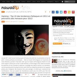 Hacking : Top 10 des tendances d'attaques en 2011 et prévisions des menaces pour 2012 : Nawaat de Tunisie – Tunisia