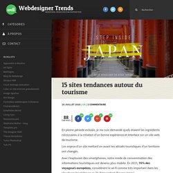 15 sites tendances autour du tourisme
