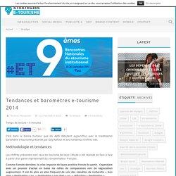 Tendances et baromètres e-tourisme 2014