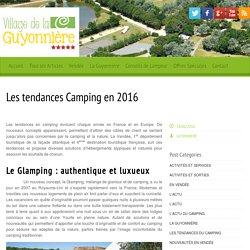 Les tendances Camping en 2016