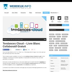 Tendances Cloud – Livre Blanc Collaboratif Gratuit