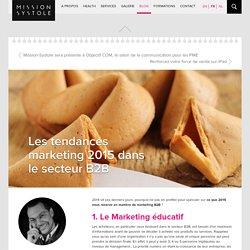 Les tendances marketing 2015 dans le secteur B2B