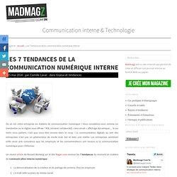 Les 7 tendances de la communication numérique interne : Madmagz Com'In