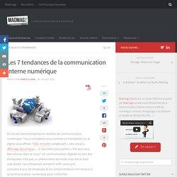Les 7 tendances de la communication interne numérique