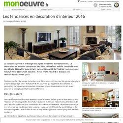 Les tendances en décoration d'intérieur 2016