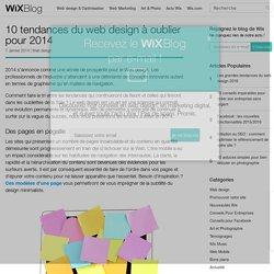 Tendances du Web design à oublier en 2014- Le Blog Officiel de Wix.com