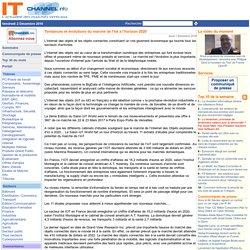 Tendances et évolutions du marché de l'Iot à l'horizon 2020