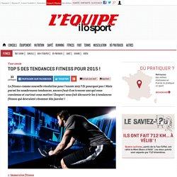 Top 5 des tendances fitness pour la rentrée 2015 !