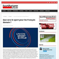 Les tendances du sport en France