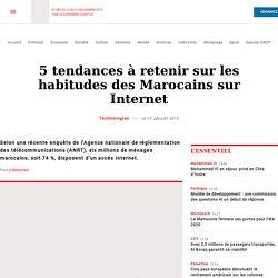 5 tendances à retenir sur les habitudes des Marocains sur Internet