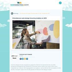 ▷ 10 tendances web design incontournables en 2019