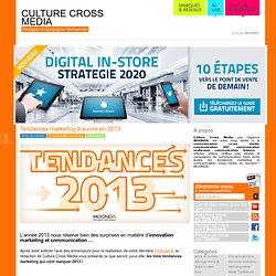 Les dernières tendances marketing à suivre en 2013