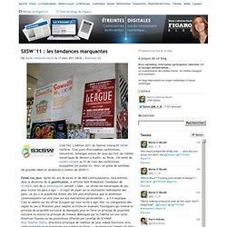 SXSW '11 : les tendances marquantes