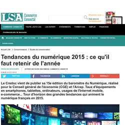 Tendances du numérique 2015 : ce qu'il faut...
