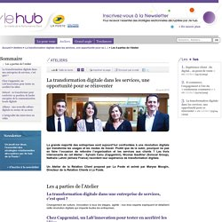 Les 4 parties de l'Atelier - /le hub de La Poste, tendances du marketing relationnel