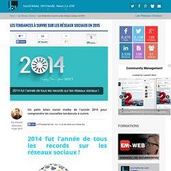 Les tendances à suivre sur les réseaux sociaux en 2015