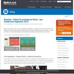 Les tendances 2015 depuis le salon E-commerce Paris