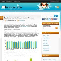 Deloitte: les grandes tendances des technologies