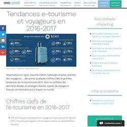 Tendances e-tourisme et voyageurs en 2016-2017