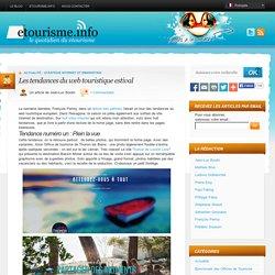 Les tendances du web touristique estival « Etourisme.info