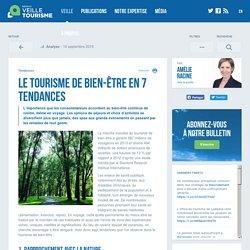 Le tourisme de bien-être en 7 tendances - Veilletourisme.ca