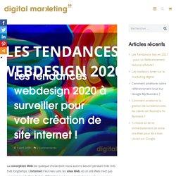 Les tendances webdesign 2020 à surveiller pour la création de site internet