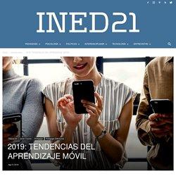 2019: TENDENCIAS DEL APRENDIZAJE MÓVIL