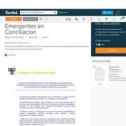 2.Tendencias Emergentes en Conciliacion