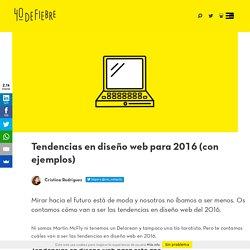 4 tendencias en diseño web para 2016