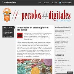 Tendencias en diseño gráfico: los sellos « 7 pecados digitales