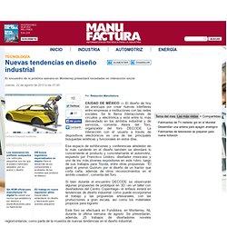 Nuevas tendencias en diseño industrial - Tecnologia