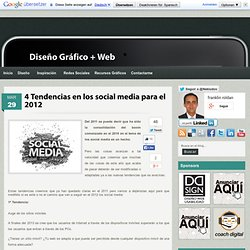 4 Tendencias en los social media para el 2012