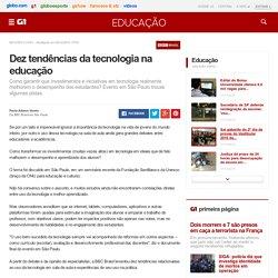 Dez tendências da tecnologia na educação - notícias em Educação