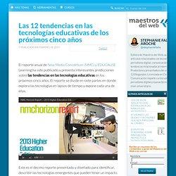 Las 12 tendencias en las tecnologías educativas de los próximos cinco años