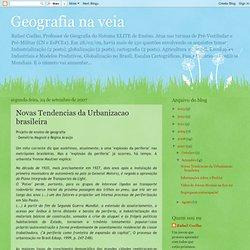 Novas Tendencias da Urbanizacao brasileira