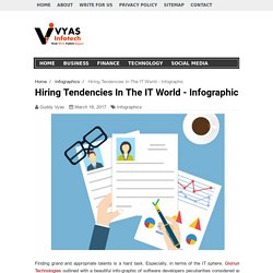Hiring Tendencies In The IT World - Infographic
