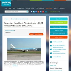 Tenerife: Deadliest Air Accident - KLM 4805: PRESSURE TO LEAVE