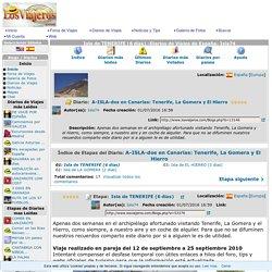 Isla de TENERIFE (6 días) -Diarios de Viajes de España- Isla74
