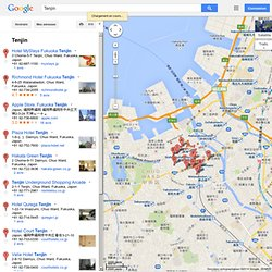 Tenjin - GoogleMaps