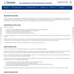 Tennaxia recrute un assistant de veille HSE à Laval