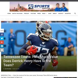 Tennessee Titans: Evaluating Derrick Henry's value for the future