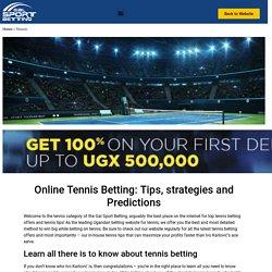 Tennis Betting Predictions & Tips - news.gsb.ug