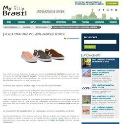 Veja, la tennis française « verte » fabriquée au Brésil
