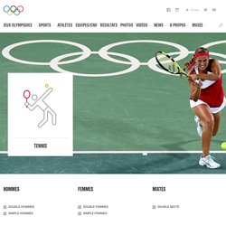 Tennis - sport olympique d'été